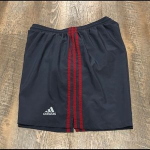 Adidas Cl Workout Shorts Navy Size Large Cz9746 Without Return Activewear
